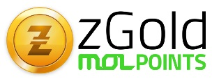 Zgold Mol Point Online Game Card