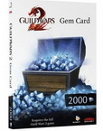 Guild wars 2 - 2000 Gems Cards